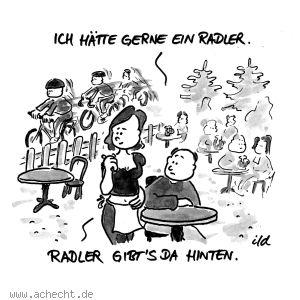 Radler Witze